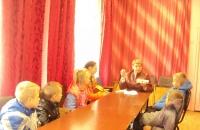 Мастер – класс по театральному гриму в д.Милюшино.