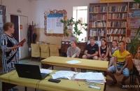 Познавательный час в библиотеке Волково.